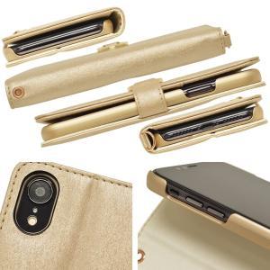 ラスタバナナ iPhone XR ケース/カバー 手帳型 viviana Tondo ミラー付き かわいい 女子 おしゃれ アイフォン スマホケース 宅|keitai-kazariya|04