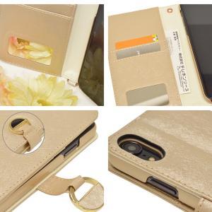 ラスタバナナ iPhone XR ケース/カバー 手帳型 viviana Tondo ミラー付き かわいい 女子 おしゃれ アイフォン スマホケース 宅|keitai-kazariya|05