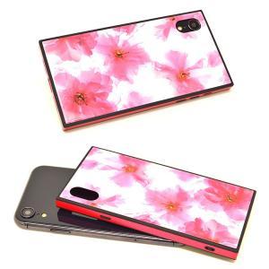 ラスタバナナ iPhone XR ケース/カバー ハイブリッド ガラス×TPU×PC 花柄 おしゃれ アイフォン スマホケース|keitai-kazariya|05