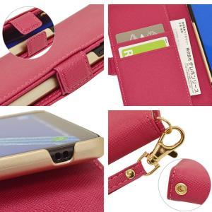 ラスタバナナ Galaxy Feel2 SC-02L ケース/カバー 手帳型 ハンドストラップ付き シンプル ギャラクシー フィール2 スマホケース 宅|keitai-kazariya|05
