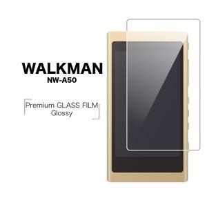 WALKMAN A50シリーズ NW-A50 フィルム 強化ガラス 高光沢 ウォークマン 液晶保護フィルム CP-NWA50GF|keitai-kazariya