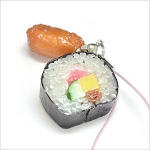 ちょ〜そっくり 食品サンプル屋さんのストラップ(助六)|keitai-kazariya
