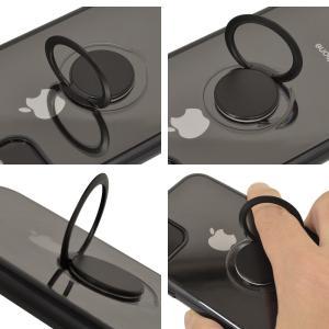 ラスタバナナ iPhone11 ケース カバー ハード トライタン スマホリング付き メタルフレーム アイフォン スマホケース keitai-kazariya 12