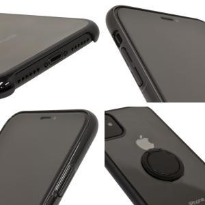 ラスタバナナ iPhone11 ケース カバー ハード トライタン スマホリング付き メタルフレーム アイフォン スマホケース keitai-kazariya 13