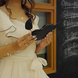 FIARA iPhone8/7 ケース/カバー 手帳型 Bigリボンケース アイフォン かわいい 女子 おしゃれ スマホケース|keitai-kazariya|03
