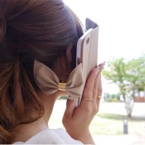 FIARA iPhone8/7 ケース/カバー 手帳型 Bigリボンケース アイフォン かわいい 女子 おしゃれ スマホケース|keitai-kazariya|05