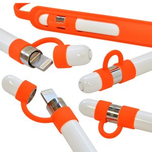 ラスタバナナ Apple Pencil ケース/カバー ソフト シリコン バンド付き キャップホルダー 第1世代/第2世代対応 アップルペンシル|keitai-kazariya|05