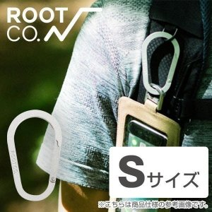 ROOT CO. Gravity Carabiner / Alumi  (S)