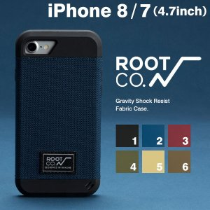 アイフォン8 iphone8 ケース メンズ 耐衝撃 アイホン7 iphone7 ケース ファブリック ケース カバー ブランド ROOT CO. rootco. ルートコー|keitai