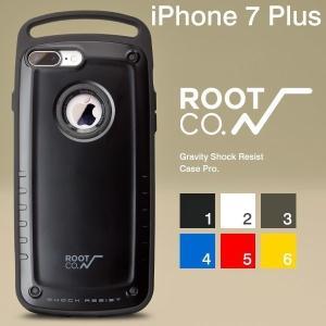 iPhone7Plus アイフォン7プラス ケース 耐衝撃 ROOT CO. GRAVITY Shock Resist Case Pro. スマホケース メンズ ルートコー rootco.|keitai