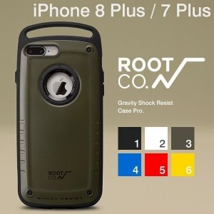 iphone8plus iphone7plus ケース 耐衝撃 ROOT CO. アイフォン8プラス ケース カバー Gravity  Pro.|keitai