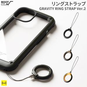 落下防止 スマホ ストラップ リングストラップ iphoneストラップ スマホグッズ スマホアクセサリー ROOT CO.|keitai