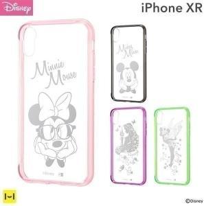 ミッキーやミニーのキュートなクリアケースディズニーキャラクターたちのかわいいiPhone XR専用...