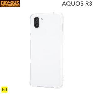 AQUOS R3 ケース 透明 アクオス R3 ケース クリア ハイブリッドケース