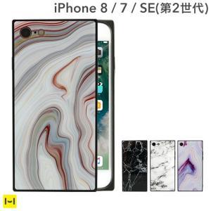 iphone8 ケース iphone7 ケース スクエア 大理石 マーブル iPhoneケース  アイフォン8 アイフォン7 TILE EYLE|keitai
