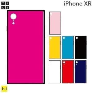 iphonexr ケース かわいい iphone xr ケース スクエア EYLE スクエア型iPhoneケース TILE スマホケース|keitai