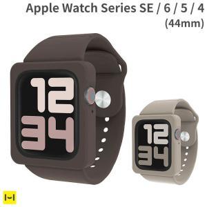 Apple Watch SE ケース 6 5 4 44mm EYLE バンド 一体型 ケース TIL...