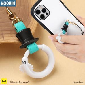 ムーミン リング ストラップ ニョロニョロ 帽子 iphone スマホ 落下防止 かわいい Hamee iPhone・スマホケースのHamee