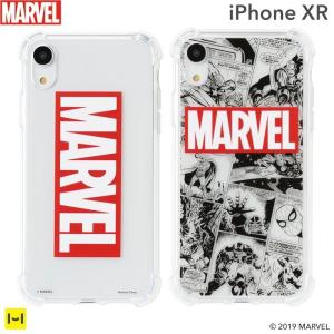 iPhone XR専用 MARVEL/マーベル TPU ソフトケース|keitai