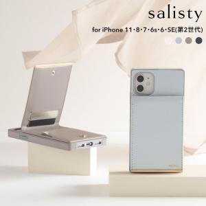 iPhone11 ケース 手帳型 iphone8 iphone se 第2世代 7 6s 6 se2 salisty サリスティ キャッシュレス ケース カード収納 上品 レディース|iPhone・スマホケースのHamee