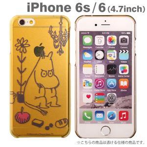 iPhone6 iPhone6s ケース ムーミン ハード クリア アイフォン6s アイフォン6 ケース iPhone 6s 6 ハードケース クリアケース アイホン6ケース / ムーミン|keitai