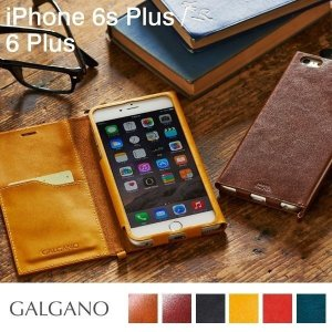 iPhone6s Plus ケース 本革 手帳型 手帳 横 iPhone6 Plus ケース カバー 本革 レザー iPhone6sPlus iPhone6Plus ブランド GALGANO 本革ケース