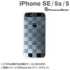 iPhone SE ケース チェック クリア iPhone5 iPhone5s ケース ハイエンドベリー オリジナルソフト TPUケース ストラップホール 保護キャップ付き チェッカード|keitai