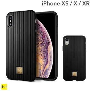 米軍軍事規格に準拠した衝撃吸収力でiPhoneを守る  上品で洗練されたスタイルのiPhone XS...