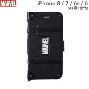 マーベル MARVEL スマホケース 手帳型 iPhone8  iPhone7 ケース iPhone6s iPhone6 ケース カード収納 iPhoneケース スマホ ケース ブラック|keitai
