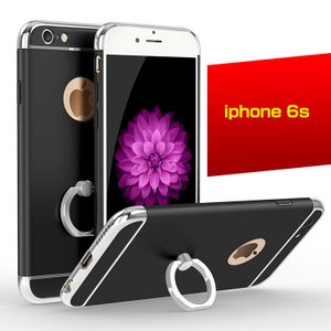 iPhone6s ケース リングブラケット付き メタル メッキ スリム おしゃれ アイフォン6S ハードケース  05P12Oct  6s-159-l60503|keitaicase