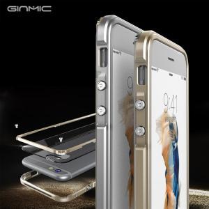 iPhone6s ケース アルミ バンパー クリア 背面パネル付き 3重構造 かっこいい アイフォン6S メタル サイドバンパー   6s-r70-t50928|keitaicase