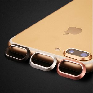 iPhone8 plus/iPhone7 Plus カメラレンズ 保護  メタルリング ファッションリング アイフォン7プラス レンズカバー|keitaicase