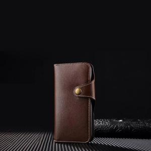 iPhone8 plus/iPhone7 Plus 手帳型 レザー ケース バネホック シンプル かっこいい カード収納 財布型 アイフォン7プラス 手帳型|keitaicase