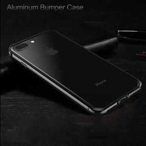 iPhone8 plus/iPhone7プラス/アイフォン7用のインナーシリコンで保護すiPhone7 Plus メタルバンパー アルミケース スマートホンカバー|keitaicase