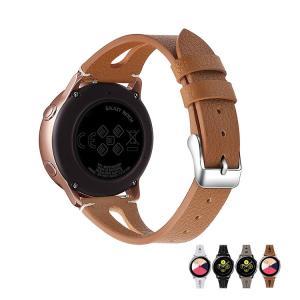 Galaxy Watch Active用 交換バンド 高級PUレザー 本革調 レザーベルト ギャラクシーウォッチ アクティブ 交換リストバンド|keitaicase