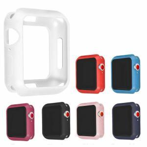 Apple Watch Series4 ケース/カバー 耐衝撃 TPU ケース/カバー 44mm用 シンプルでおしゃれなアップルウ  aw444-gj04d-w80913 keitaicase