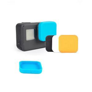 GoPro Hero5/HERO6 black レンズカバー シリコン キャップ ゴープロ ヒーロー5 レンズ保護 ソフトキャップ|keitaicase