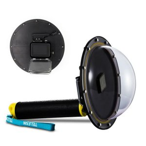 Gopro Hero 5/HERO6 black 防水 ハウジングケース アルミフレーム ダイビング カメラ スポーツアクションカム 水中撮影用 防水30  hero5-dp01-w70216|keitaicase