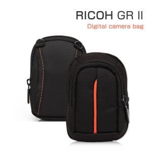 GR IIケース  ポーチ カバン型 軽量/薄  RICOH GR II対応ケース デジタルカメラバッグ  05P12Oct  ii-st-a74-t60218|keitaicase