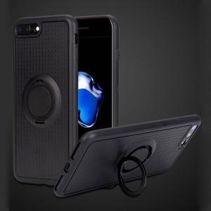 Apple iphone8 Plus ケース TPU リングブラケット付き スマホリング付き メッキ TPU アイフォン8プラス   ip8p-311-l70926|keitaicase