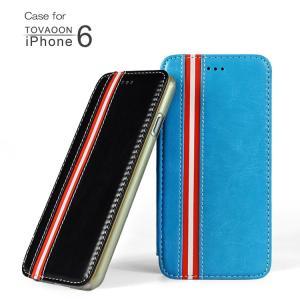 iPhone6 ケース レザー 手帳 (4.7インチ)  アイフォン 6 カバー 液晶保護 革 レザーケース かわいい おしゃれ   iphone6-tv-w40929 keitaicase