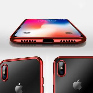 iPhone X クリアケース TPU スマホリング付き アイフォンX ソフトケース|keitaicase