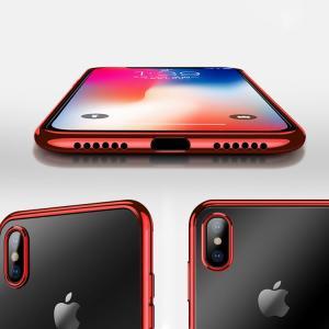 Apple iPhone XS / iPhone X クリアケース TPU リング付き アイフォンXS/X ソフトケーススマートフォン/スマフォ/スマホケース/カバー|keitaicase
