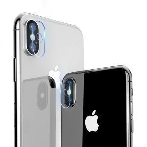 apple iPhone XS / iPhone X  カメラレンズ 強化ガラス カメラ保護用ガラスフィルム 硬度9H 0.3mm アイフォンX レンズ保護  ipx-filmcap-w71026|keitaicase
