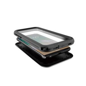 apple iPhone X 防水ケース IP68クラス 防塵/防水 ストラップ穴 アイフォンX ハードケース アップル おすすめ  ipx-sf04-t71102|keitaicase