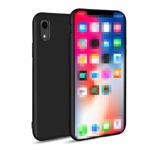 iPhone XR ケース TPU ストラップホール付き シンプル アイフォンXR ソフトケーススマートフォン/スマフォ/スマホケース/カバー|keitaicase