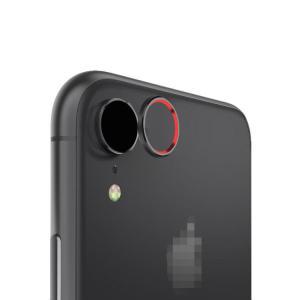 Apple iPhone XR カメラレンズ 保護  メタルリング ファッションリング アイフォンXR レンズカバー レンズ プロテクター ベゼル|keitaicase