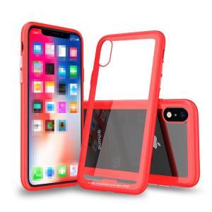 Apple iPhone XR ケース/カバー TPU バンパー 背面強化ガラス 背面パネル付き かっこいい アイフォンXR ソフトケース & ハードケース 2重構造 ハイブリット素材|keitaicase