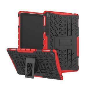 Huawei MediaPad M5 lite ケース カバー 耐衝撃 タフで頑丈 2重構造 TPU素材 スタンド付き ファーウェイ メディアパッド M5 ライト 耐衝撃ケース おすすめ おし|keitaicase