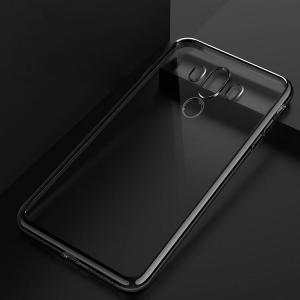 Huawei Mate10 Pro クリア ケース メッキベゼル ソフトバンパー クリア TPU メッキ メタル調 ファーウェイ   mate10pro-ax02-w71207 keitaicase